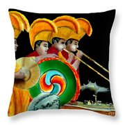 The Healing Ceremony Throw Pillow
