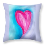 The Heart Is Throw Pillow
