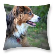 The Heart Of Dixie Throw Pillow