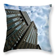 The Heart Of Pittsburgh Throw Pillow