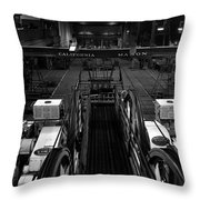 The Heart Of San Francisco Cable-car Throw Pillow by RicardMN Photography