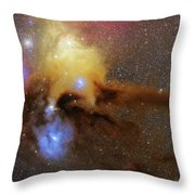 The Heart Of Scorpius Antares Region Throw Pillow