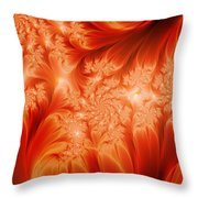 The Heat Of The Sun Throw Pillow
