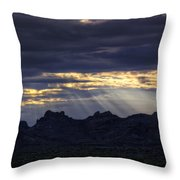 The Heavenly Light  Throw Pillow