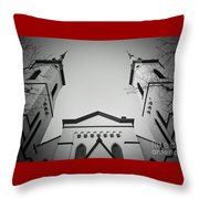 The Heavenly Spires Throw Pillow