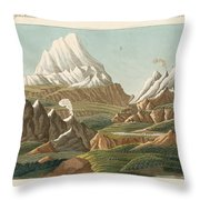 The Heights Of The Old And New World Throw Pillow