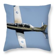 The Hellenic Air Force Daedalus Demo Throw Pillow