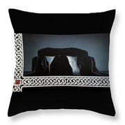 The Hellstones Throw Pillow