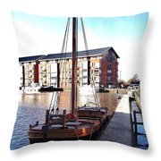 The Hereford Bull 1 Throw Pillow