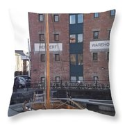 The Hereford Bull Throw Pillow