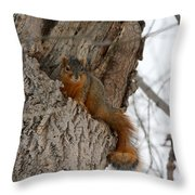 The Hide Out Throw Pillow