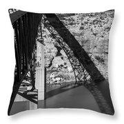 The High Bridge Throw Pillow