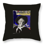 The High Chaparral Cameron Mitchell Publicity Photo Number 1 Throw Pillow