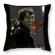 The High Chaparral Henry Darrow Publicity Photo Number 2 Throw Pillow