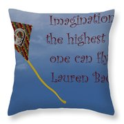 The Highest Kite Throw Pillow