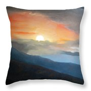 The Highest Point Throw Pillow