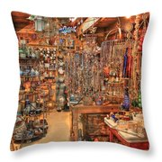 The Highway 441 Roadside Gift Shop Throw Pillow
