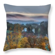 The Hills Throw Pillow by Bill Wakeley
