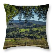 The Hills Throw Pillow