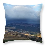 The Hills Of Ashland Throw Pillow