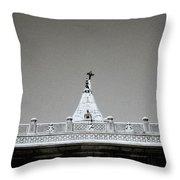 The Hindu Temple Throw Pillow