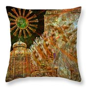 The History Of Consciousness Throw Pillow