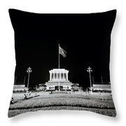 The Ho Chi Minh Mausoleum In Hanoi Throw Pillow