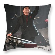 The Hold Steady Throw Pillow