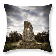 The Holestone Throw Pillow