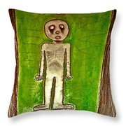 The Hollow Men 88 - Lone Idea Throw Pillow