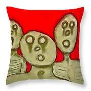 The Hollow Men 88 - Three Walkers Throw Pillow