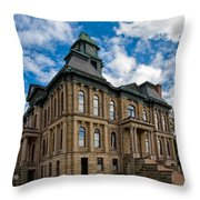 The Holmes County Courthouse Throw Pillow
