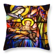 The Holy Child Throw Pillow