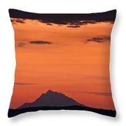 The Holy Mountain Throw Pillow