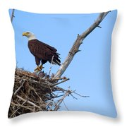 The Home Front Throw Pillow