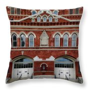 The Home Of Country Music Throw Pillow