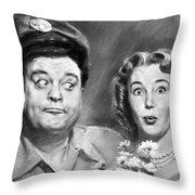The Honeymooners Throw Pillow