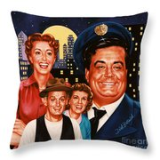 The Honeymooners Throw Pillow