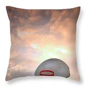 The Hoop Throw Pillow