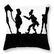 The Horse Dealer Throw Pillow