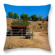 The Horse Ranch 2 Throw Pillow