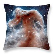 The Horsehead Nebula Throw Pillow
