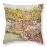 The Hotel Belvedere, Lacerla Throw Pillow