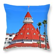 The Hotel Of Hotels Throw Pillow