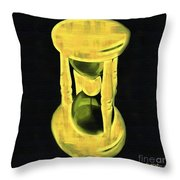 The Hourglass Throw Pillow