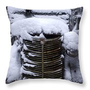 The House Moving Truck Throw Pillow