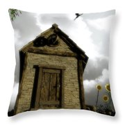 The House Of Light And Shadow Throw Pillow