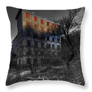 The House Of Mistery 2 Throw Pillow by Enrico Pelos