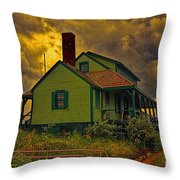 The House Of Refuge Throw Pillow