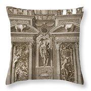 The House Of Sleep, 1731 Throw Pillow